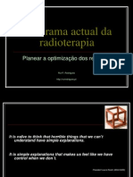 Panorama actual da radioterapia