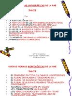 027_NUEVAS NORMAS ORTOGRÁFICAS DE LA RAE.ppt