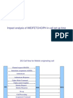 IMEIFETCHCIPH Imapct Analysis in Calls Set Up Time Ppt Rev02
