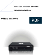 Astone Media Gear AP-110D User Manual