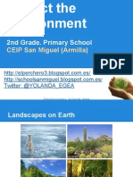 Protect the environment - 2nd Grade - PPT