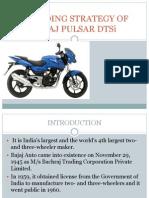 Bajaj Pulsor Branding Strategy 28934724