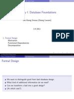 20 DB Formal Design
