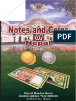 Notes and coins of Nepal  Банкноты и монеты Непала  2006