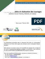Métro B - travaux préalables et réalisation des ouvrages - Cesson-Sévigné (7/2/2013)