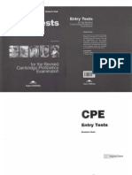CPE Entry Tests 1 SB
