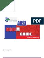 INSTALATION ET Configuration Du Modem ADSL MT880