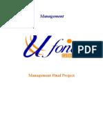 Ufone HRM Print