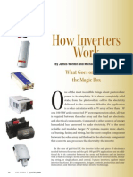 How Inverters Works