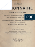 Dictionnaire Niçois-Français