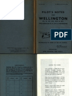 Wellington Mkiii x Xi Xii Xiii Xiv Pilot Notes