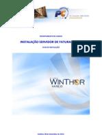 ServidorFaturamento - Guia de instalação