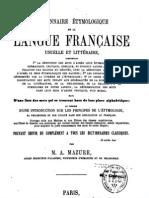 Dictionnaire_étymologique