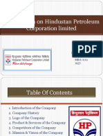 Presentation on Hindustan Petroleum Corporation Limited