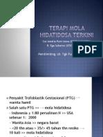 Terapi Mola Hidatidosa Terkini (Coas Obgin 4 Juli-28 Agustus 2011)