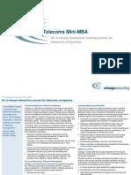 Coleago 4 Day Telecoms Mini-MBA