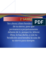 2 Samuel 7-29