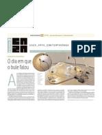 O dia em que o bule falou - Jornal do Commercio 01/02/2013
