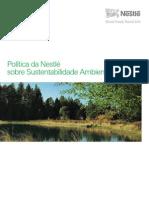Política da Nestlé sobre Sustentabilidade Ambiental