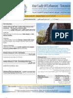 Bulletin Feb 10, 2013