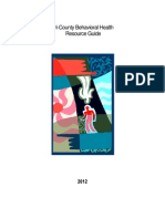 Behavioral Health Resource Guide 2012