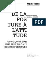 I.Launay C.Roquet De la posture à l'attitude