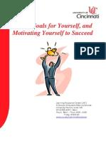Goal Setting and Motivation Workshop Booklet