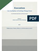 Ensayo Libro Execution Erika Cerino