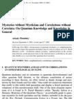 Plotnitsky Mysteries Without Mysticism 42p