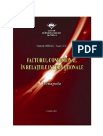 Factor Confesional in Relatiile Internationale