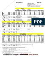 Model Wise Price List 20.06.2012
