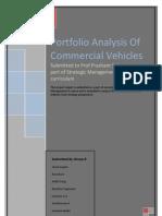 Portfolio Analysis Commercial Vehicles