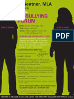 Anti-Bullying Forum
