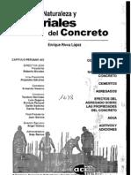 Naturaleza y Materiales Del Concreto - Enrique Riva
