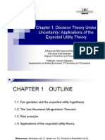 Chapter1 Decision Theory Under Uncertainty