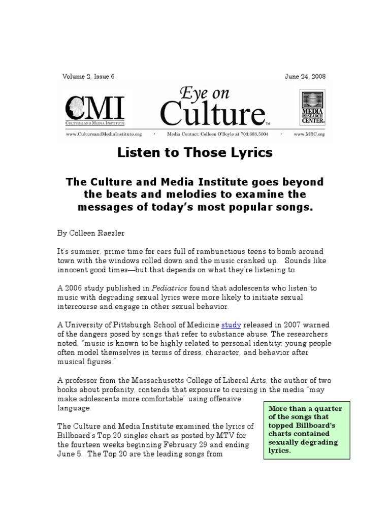 Sexual medicine lyrics