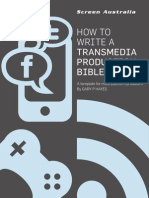 Transmedia Prod Bible Template