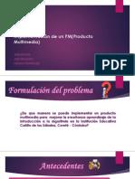 Implementación de un PM(Producto Multimedia)