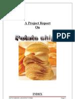 A Project Report on Pcxotato Chips