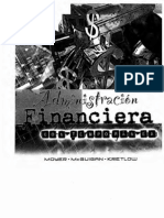 Administración Financiera Contemporanea