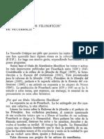 Althusser Los Manifiestos Filosoficos de Feurerbach