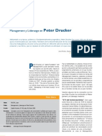 Management y Liderazgo en Peter Drucker