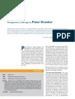 Management y Liderazgo en Peter Drucker