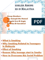 Social Problem Among Teenagers in Malaysia