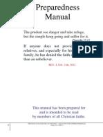 Preparedness Manual
