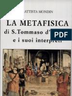 La Metafisica Di Tommaso e i Suoi Interpreti - B.mondIN