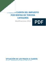 Pagos a Cuenta Del Ir 20120925