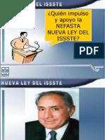 Afectaciones Ley Issste-Orizaba