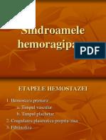 Semiologie Sange