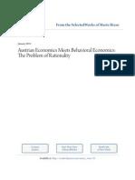 Mario Rizzo - Austrian Economics Meets Behavioral Economics